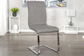 Stolička / konzola Hampton sivá