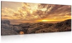 Obraz skaly mora