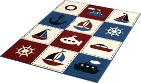 Hanse Home Collection koberce Kusový koberec CITY MIX 102330 140x200cm - 140x200 cm