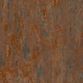 Vliesové tapety na stenu IL DECORO 32651-1, rozmer 10,05 m x 0,53 m, industriálna omietka medená, A.S.Création