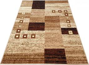 Kusový koberec PP Kocky béžový, Velikosti 300x400cm