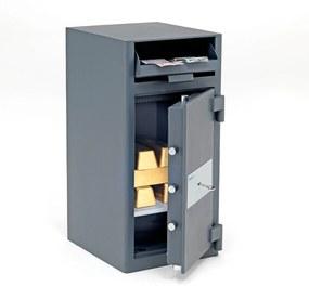 Trezor Save s vhadzovacou schránkou, 700x340x380 mm, zámok na kľúč