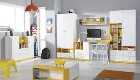 Meblar Detská izba MOBI systém A Farba: Žltá