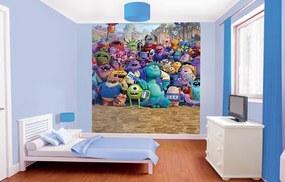 Walltastic Monsters University - fototapeta na stenu 203x243 cm (šírka x výška)