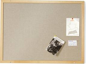 Nástenka, 830x630 mm, bukový rám
