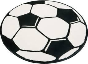 Detský koberec Hanse Home Football, ⌀ 100 cm