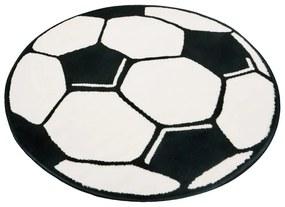 Detský koberec Hanse Home Football, ⌀ 150 cm