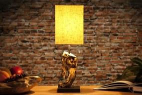 Bighome - Stolná lampa CYGNUS béžová