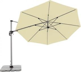 ACTIVE 370 cm - bočný záhradný slnečník s bočnou tyčou - Doppler