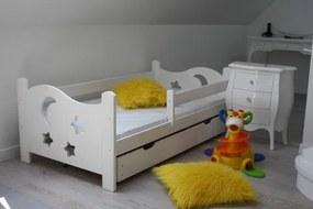 OVN Detská posteľ Severka 80x180 biela+rošt