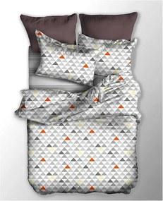 Obojstranné obliečky z mikrovlákna na jednolôžko DecoKing Basic Fizzy, 135 × 200 cm