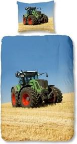 Detské bavlnené obliečky Good Morning Tractor, 140 × 200 cm
