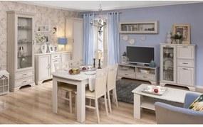 Jedálenský stôl rozkladací TIFFY OLIVIA woodline krémová Tempo Kondela