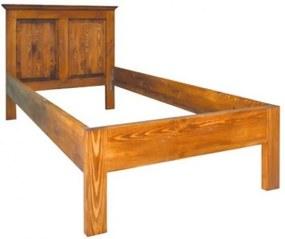 Posteľ ACC 01 - 90x200 cm - sedliacky nábytok