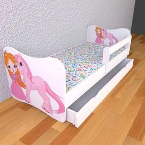 Moje Kráľovstvo Detská posteľ 180cm x 80cm Jednorožec