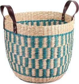 ae5abf4df 27,99 EUR Úložný košík z morskej trávy Slowdeco Mozaic