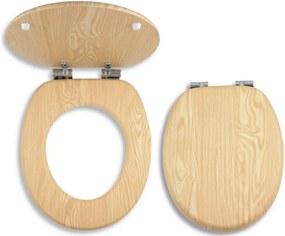 Novaservis WC/SOFTJASAN sedátko na WC dýhované drevo softclose