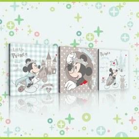 Obraz na plátne viacdielny - OB2623 - Mickey Mouse 75cm x 25cm - S13
