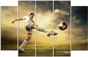 CARO Obraz na plátne - Volleyball Player Volleying 150x100 cm