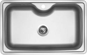 Sinks nerezový drez BIGGER 800 V matný