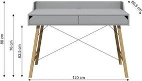 BE Písací stôl JULKO