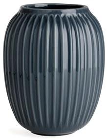 KÄHLER Keramická váza Hammershøi Anthracite 20 cm