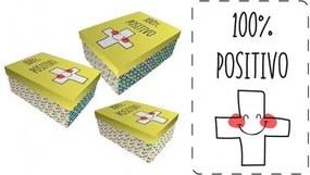 BAGGY Úložné / darčekové krabice 3ks POSITIVO BAGGY BAG2999