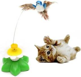 B2B Hračka pre mačky - lietajúci kolibrík