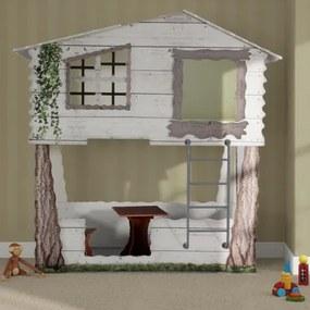 Plastiko detská postieľka Tree House