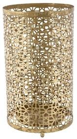 Železný stojan na dáždniky Mauro Ferretti Stick Glam, ⌀ 24 cm