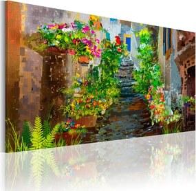 Obraz na plátne - Okouzlující Provence 60x30