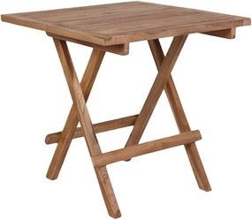 Záhradný odkladací stolík z teakového dreva House Nordic Bilbao, dĺžka 50 cm