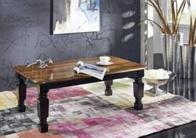 Masiv24 - KOLONIAL Konferenčný stolík 118x70 cm, palisander