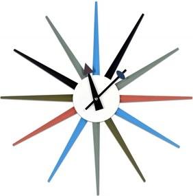 GOC Dizajnové nástenné hodiny PUGIO 52 cm