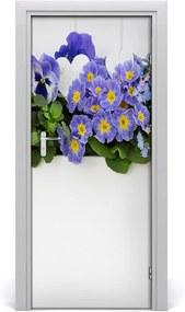 Fototapeta samolepiace  fialové kvety