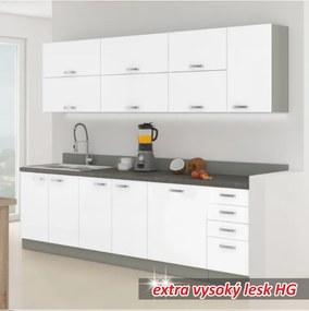 TEMPO KONDELA Prado 260 kuchyňa biela