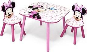 Detský stôl so stoličkami - myška Minnie III Myška Minnie TT89436MN