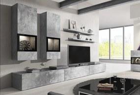 Moderná obývacia stena BAROS