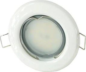 T-LED LED bodové svetlo do sadrokartónu 5W biele 230V Farba svetla: Teplá biela