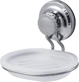 Mydlovnička Ecoloc, biela/chróm ECO39