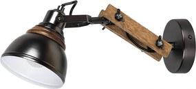 Rábalux Aksel 2723 Nástenné Lampy buk čierny E14 1X MAX 25W