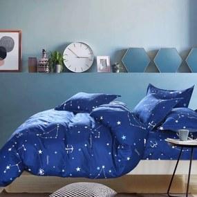 HOD Bavlnené obliečky ZODIAC modré 7 set 140x200cm