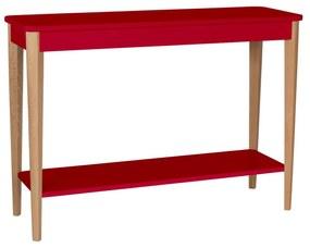 RAGABA Ashme konzolový stôl široký, červená
