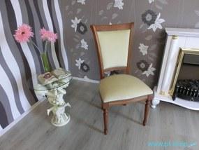 (024) SEDIA CASTELLO - Zámocká stolička béžová