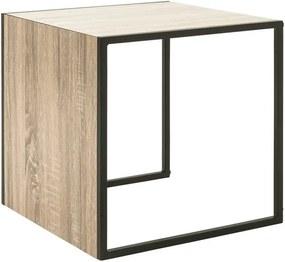 Sconto Prístavný stolík XANDRO doska stola 45 x 45 cm