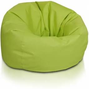 Ecopuf Sedací vak ECOPUF - SAKWA M - polyester NC1 - Svetlo zelená