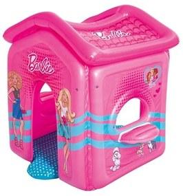 BESTWAY Bestway Detský nafukovací domček Bestway Barbie Ružová |