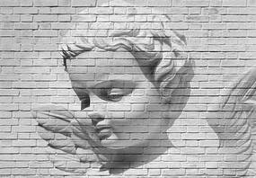 Fototapety, rozmer 366 x 254 cm, Angel Brick Wall, W+G 00160