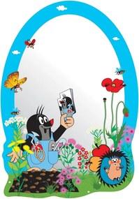 AG Art Samolepiace detské zrkadlo Krtko, 15 x 21,5 cm
