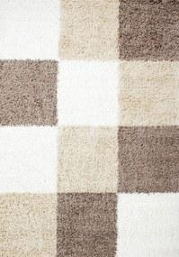 Ayyildiz koberce Kusový koberec Life Shaggy 1501 mocca - 80x150 cm